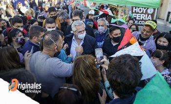 Menos discursos y más cara a cara: la nueva campaña de Alberto   Alberto fernández