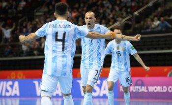 La Selección Argentina de Futsal eliminó a Rusia y va vs. Brasil | Selección argentina