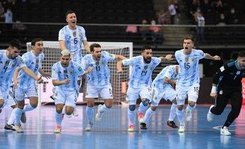 La infartante tanda de penales de Argentina en el Mundial de Futsal | Futsal