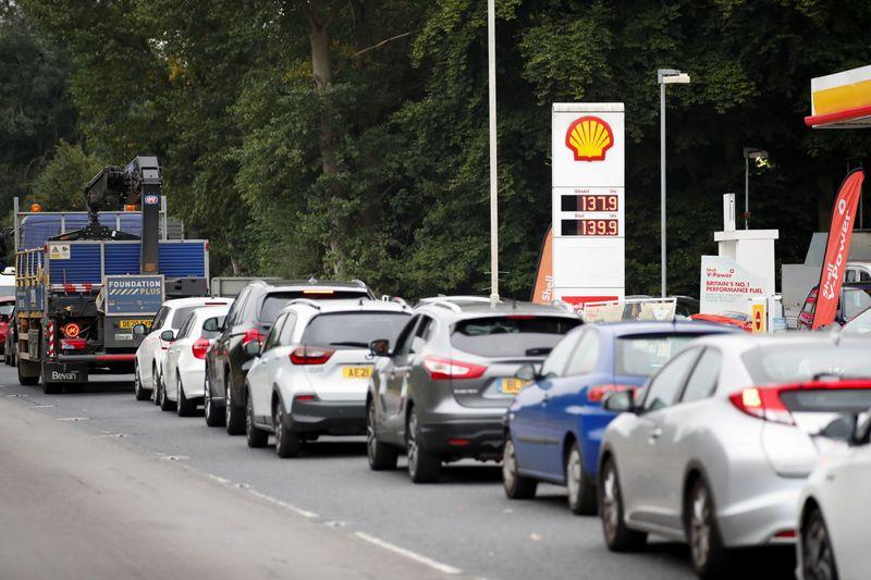 Inminente falta de combustible en Reino Unido provoca caos | Combustibles