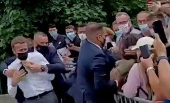 Le tiraron un huevazo a Macrón en una feria | Emmanuel macron