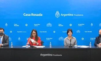 El gobierno presentó el programa de registro de trabajadoras    Alberto fernández
