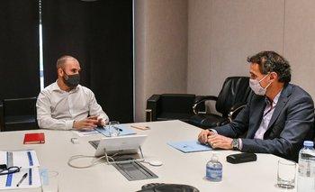 Guzmán se reunió con Katopodis y Domínguez | Reactivación económica