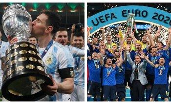 Argentina enfrentará a Italia en un duelo de campeones continentales | Fútbol