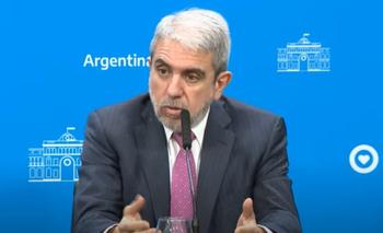Aníbal Fernández anunció el envío de 575 efectivos a Santa Fe | Casa rosada