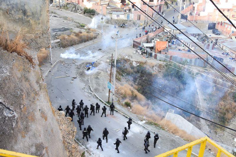 Protestas de cocaleros de Bolivia por el control de mercado en La Paz  | Bolivia