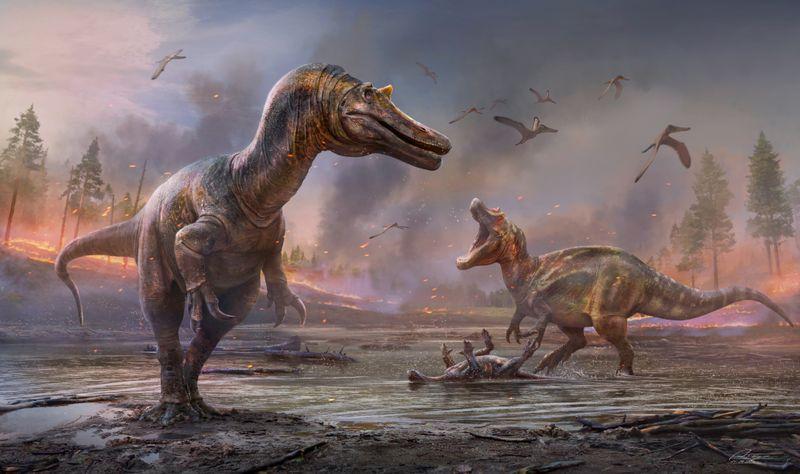Descubren dos especies de dinosaurios desconocidos hasta el momento   Arqueología
