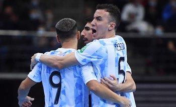 Argentina eliminó a Brasil y es finalista del Mundial de Futsal | Mundial de futsal