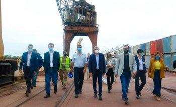 Autoridades de la AGP se reunieron con Capitanich y recorrieron los puertos de Chaco | Chaco