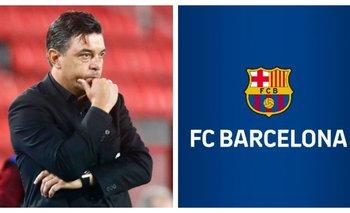 Un periodista español confirmó que el Barcelona quiere a Gallardo   Fútbol