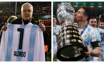 Norberto Alonso chicaneó a Lionel Messi y lo mataron en las redes | Fútbol