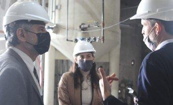 Filmus inauguró obras en Rosario y visitó una empresa fundada por científicos repatriados   Ciencia y tecnologia