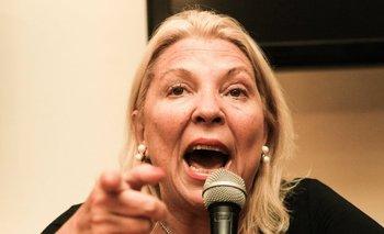"Carrió: ""El voto a Margarita Stolbizer es el voto Poncio Pilatos"" | Hermes binner"