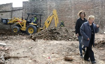 Encontraron restos óseos donde realizan la búsqueda de Miguel Bru | Miguel bru