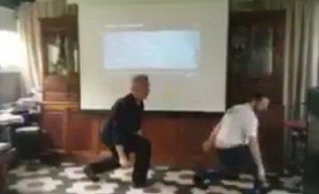 El desopilante video del baile de Ottavis | José ottavis