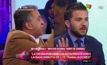 """Brancatelli y Pitrola se tiraron con todo por ser """"funcionales"""" a Macri   Néstor pitrola"""
