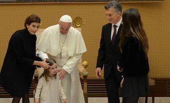 La particular plegaria que le realizó Macri al despedirse de Francisco   Francisco con macri