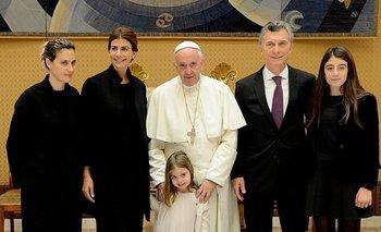 """Macri calificó de """"buena y positiva"""" su reunión """"más larga"""" con Francisco   Papa francisco"""
