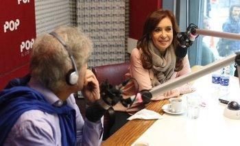 La opinión de Cristina Kirchner sobre la censura a Navarro en una radio del Grupo Indalo   Beto casella