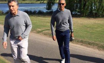 Una famosa vedette jugó al golf junto a Macri y Obama y les sacó fotos íntimas | Barack obama