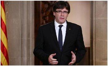 El presidente de Cataluña suspendió la declaración de independencia y pidió abrir el diálogo | España