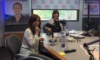Mirá en vivo la entrevista de Cristina con la Negra Vernaci   Cristina kirchner