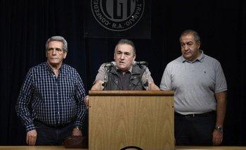 CGT: Peajes y Aeronavegantes también se fueron de la central obrera | Juan carlos schmid