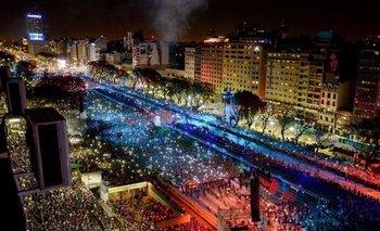 Larreta mantuvo apagada la imagen de Evita en la apertura de los JJOO de la Juventud | Horacio rodríguez larreta