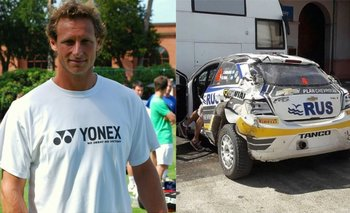 David Nalbandian sufrió un espectacular accidente automovilistico   David nalbandian
