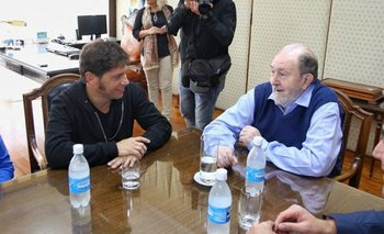 Axel Kicillof se juntó con el gobernador Carlos Verna y elogió su gestión | Axel kicillof