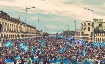 Casi un millón de personas marcharon a Lujan: impactantes imágenes   Luján