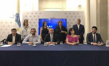 Felipe Solá presentó oficialmente el espacio RedxArgentina | Congreso