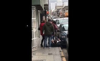 El video de la brutal agresión a Sergio Varisco, intendente de Cambiemos en Paraná | Sergio varisco