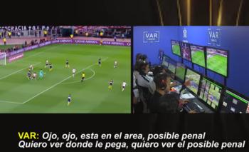 Conmebol mostró los videos del VAR del River - Boca   Copa libertadores