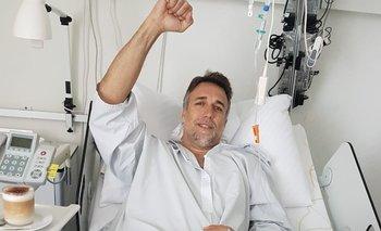 El increíble detalle en la foto de la recuperación de Batistuta | Gabriel batistuta