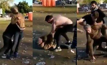 Indignante ataque de rugbiers a un indigente | Rugby