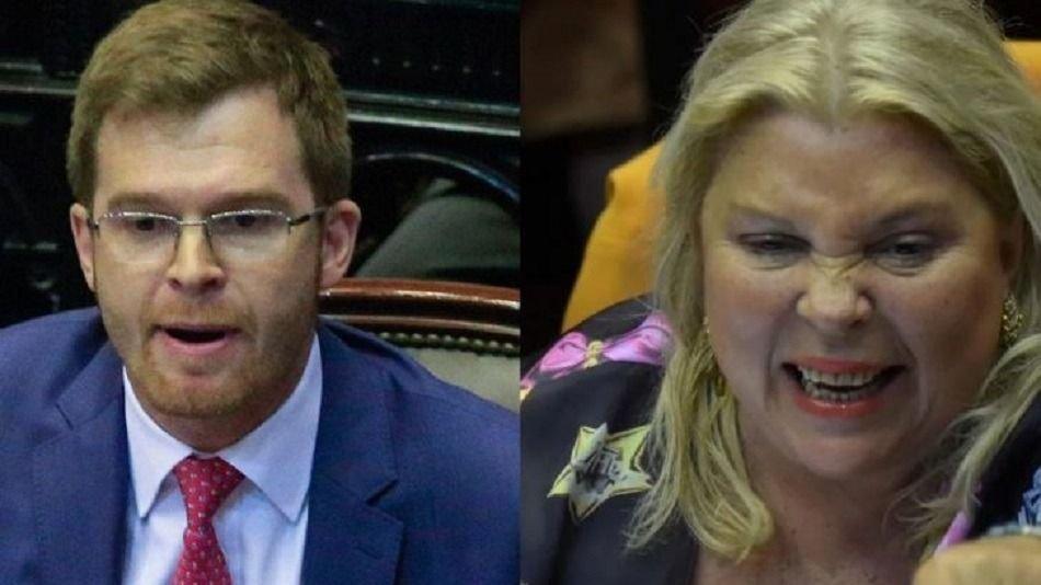 Fuerte interna en el oficialismo: Carrió criticó a