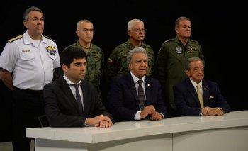 El Gobierno de Macri respaldó a Lenín Moreno en medio de la crisis en Ecuador | Crisis en ecuador
