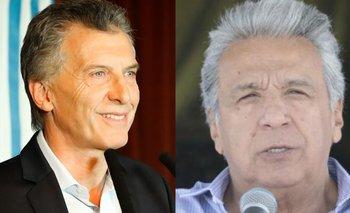 En medio de la crisis en Ecuador, Macri respaldó a Lenin Moreno | Crisis en ecuador