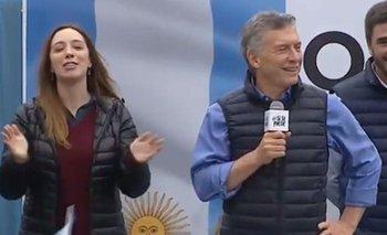 Plaza vacía: así recibieron a Macri en Olavarría en la marcha Si se puede | Mauricio macri
