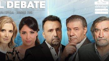Así será la cobertura del Debate Presidencial en El Destape   Debate presidencial