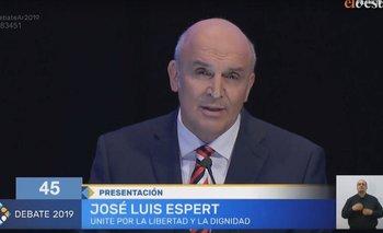 Espert le recriminó a Macri que quiso bajarlo de la competencia electoral   Debate 2019