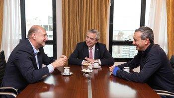 Alberto Fernández se reunió con Perotti y un intendente socialista | Elecciones 2019