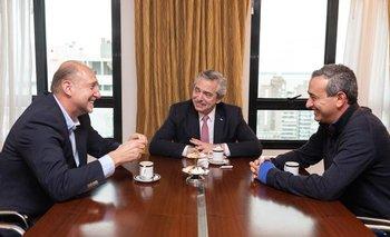 Alberto Fernández se reunió con Perotti y un intendente socialista   Elecciones 2019