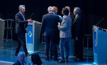 El debate desde adentro: lo que no se vio de los candidatos a presidente | Debate 2019