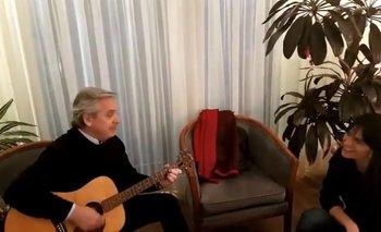 """""""Solo se trata de vivir"""": el video de Alberto y Natalia De la Sota cantando   Elecciones 2019"""