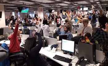Trabajadores de Clarín convocan a una medida de fuerza   Despidos en clarín