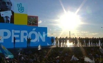 El emocionante momento en el que se entonó la marcha peronista | Día de la lealtad