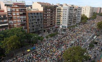 Disturbios en Barcelona dejan heridos y detenidos | España