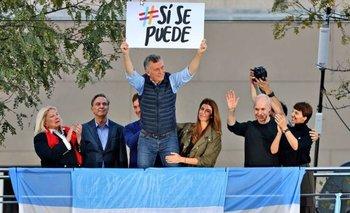 Poca convocatoria: así está el Obelisco a minutos de la llegada de Macri | #sisepuede